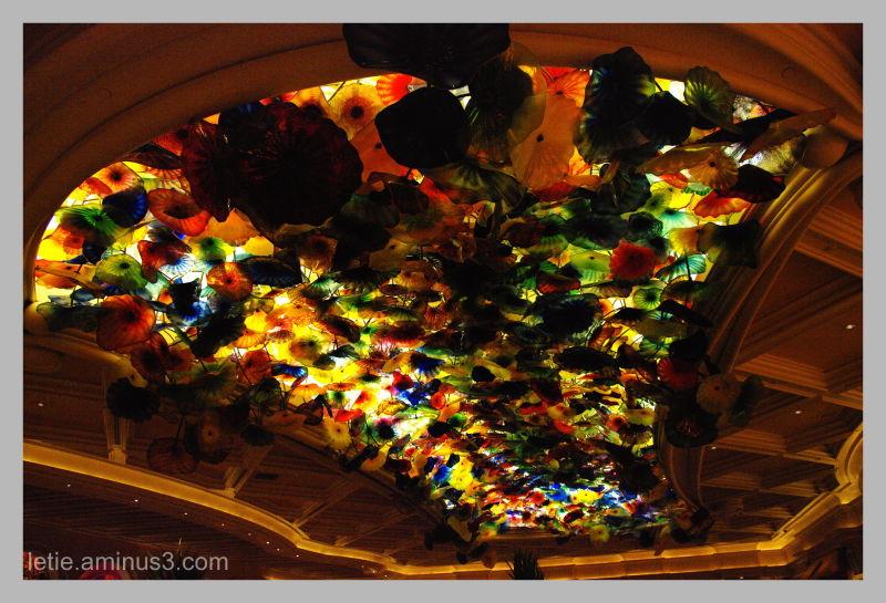 Plafond Multicolore