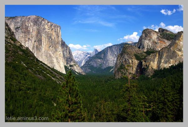l'entrée de Yosemite Park
