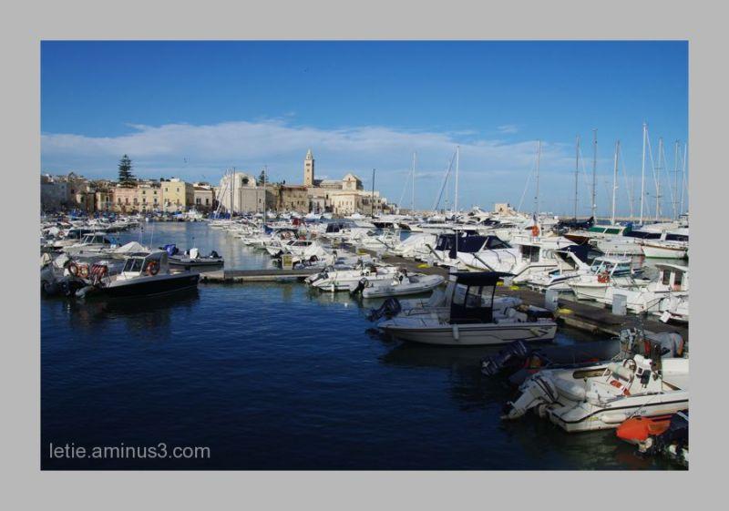 Port de Trani, sud Italie