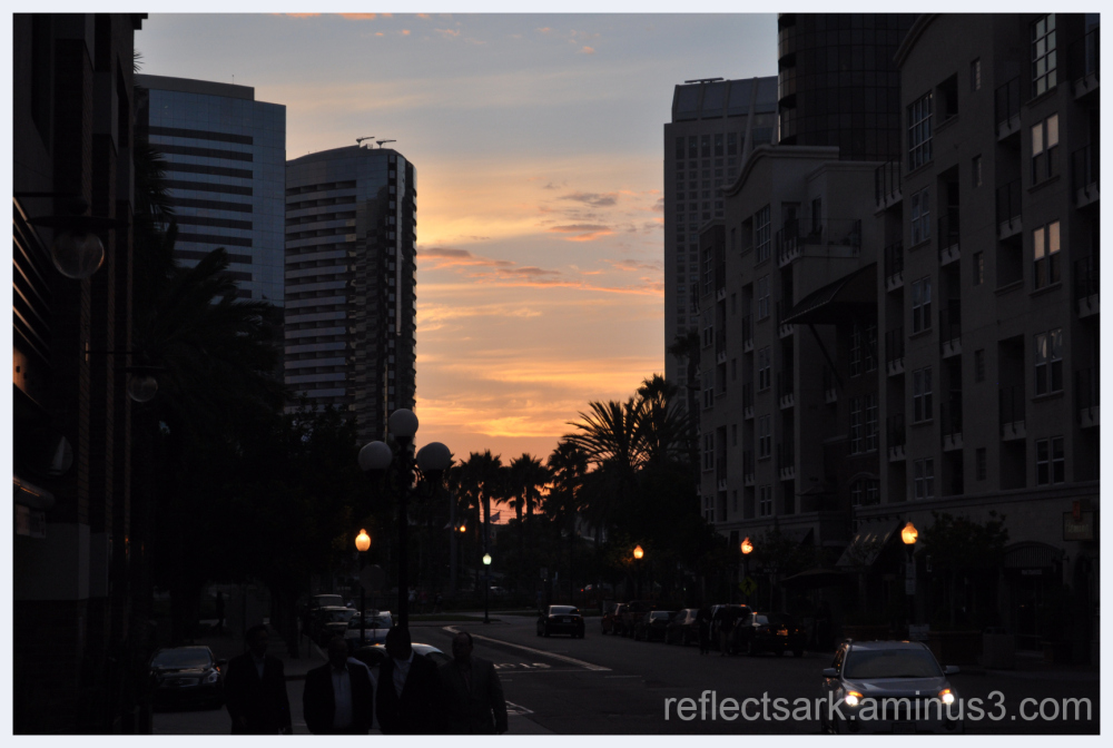 Sunset in the City