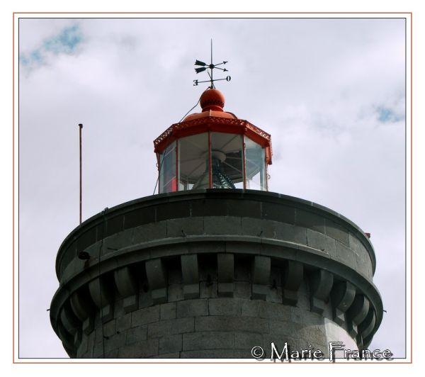 Haut du phare du Minou