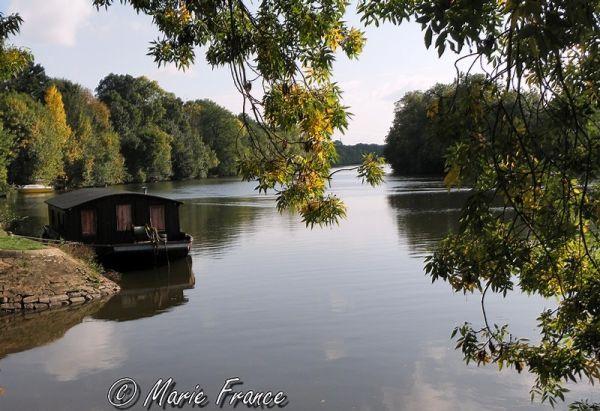 rivière en Anjou