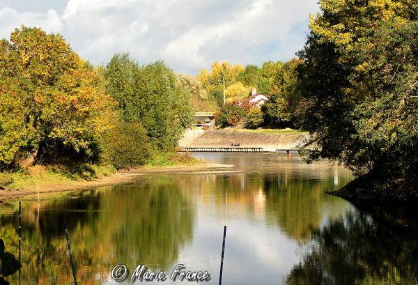 La Sarthe en automne