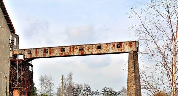 Sur une vieille mine de fer