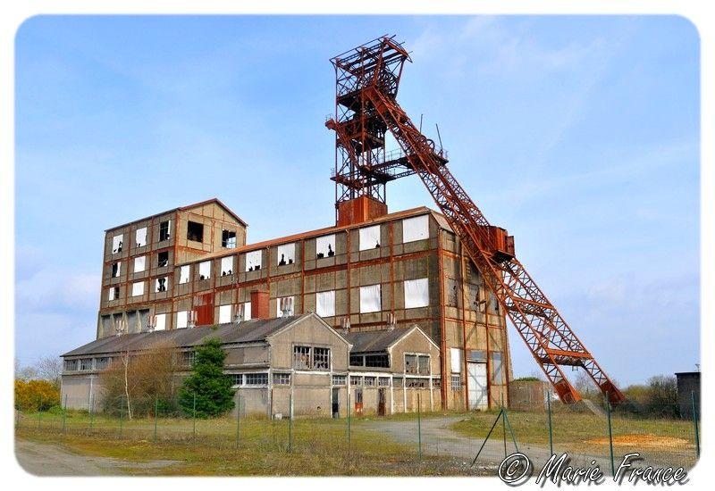 vieux bâtiment minier