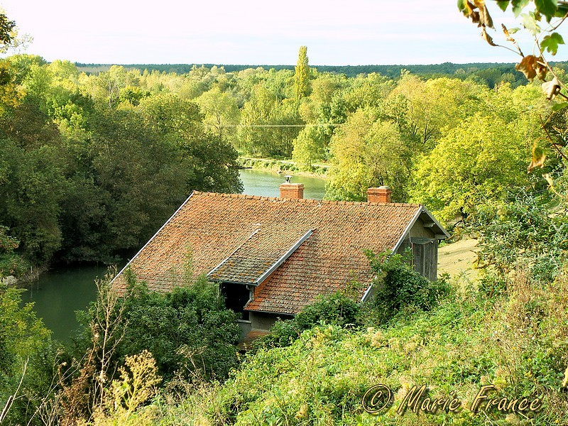 panorama sur le Loir