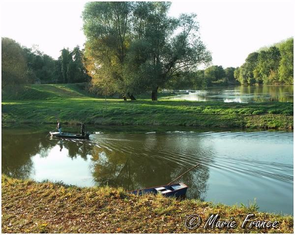 La Mayenne à Montreuil Juigné