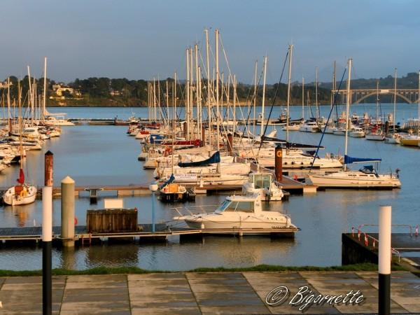 port de plaisande de Brest