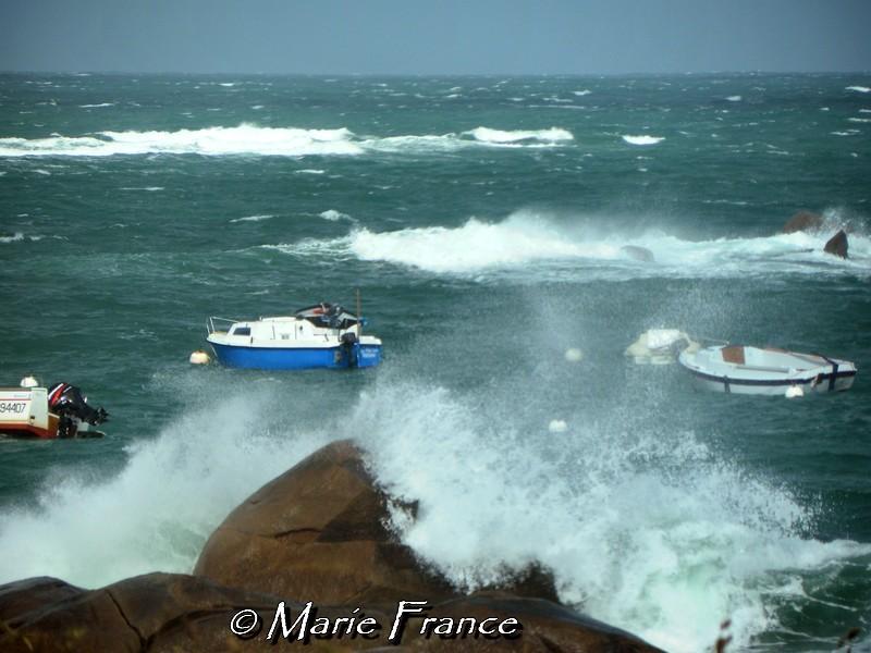 effet de vague en Bretagne
