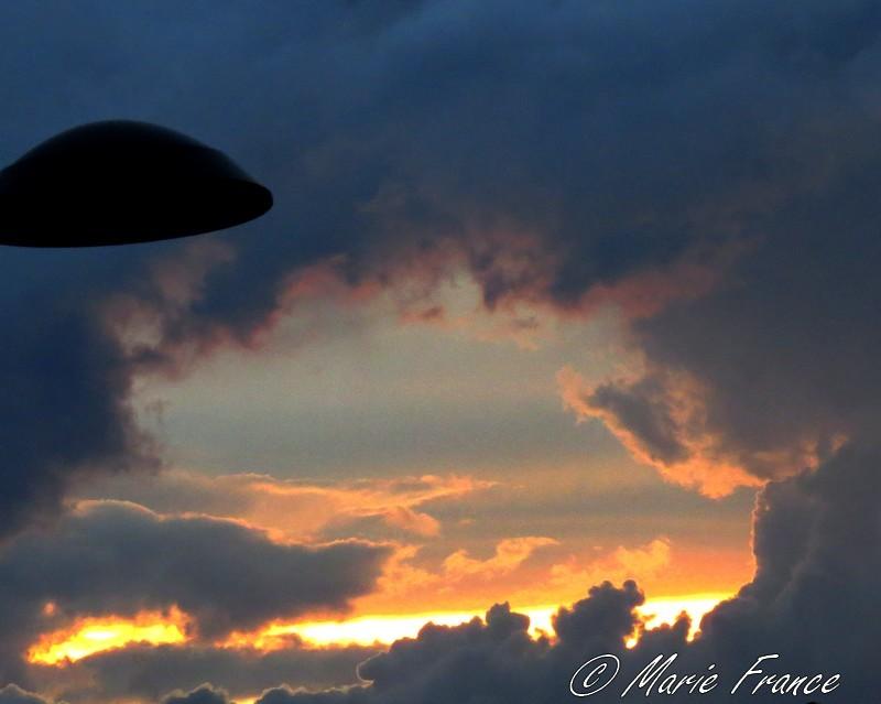 ciel mouvementé en Anjou