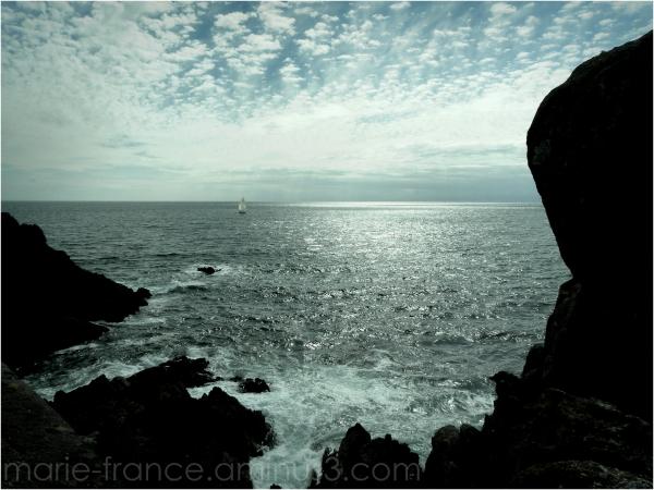 Près de Brest... mer , rochers, ciel