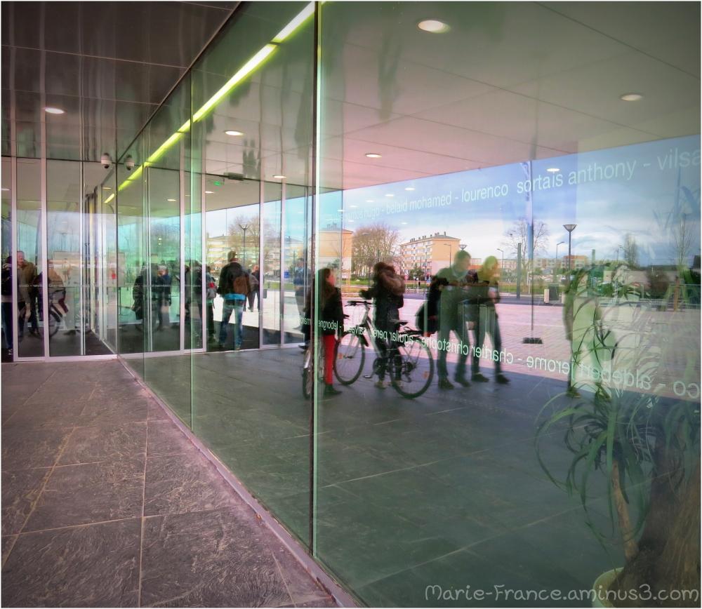 Aquavigta à Angers...des reflets...