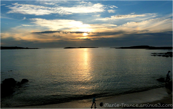 Fin du jour en Bretagne
