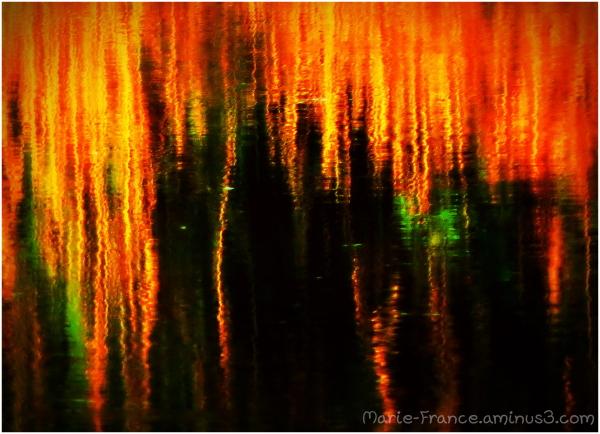 reflets accentués...pour abrstrait
