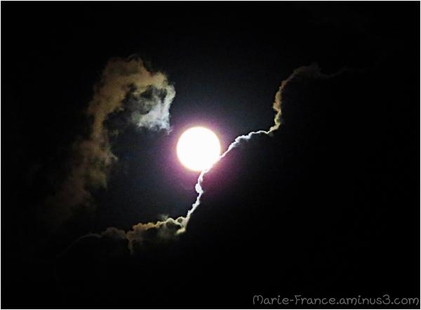 Ciel nocture en Bretagne