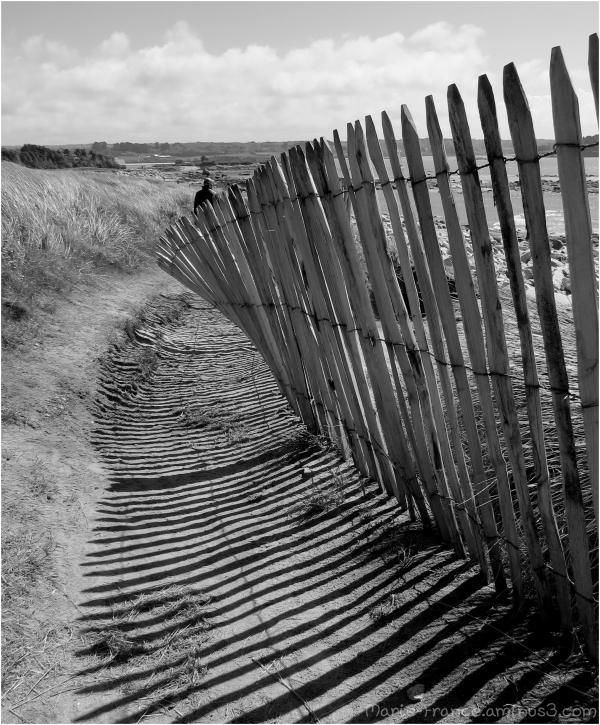 Sentier de randonnée en Bretagne