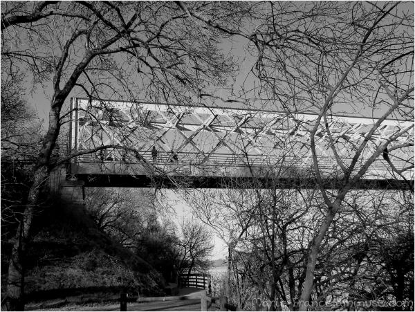 Pont de Pruniers près d'Angers