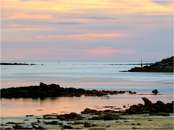 paysage breton en soirée...
