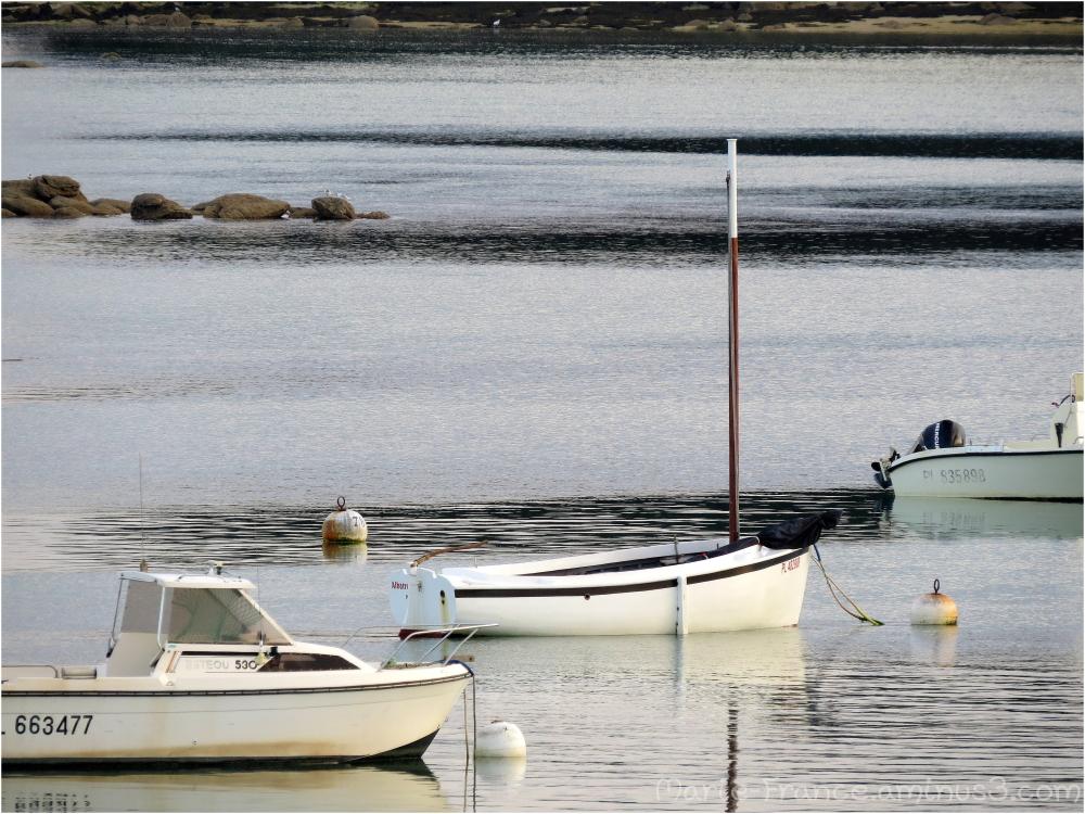 bateaus en Bretagn