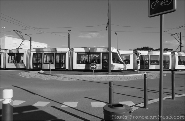 Le tramway à Angers