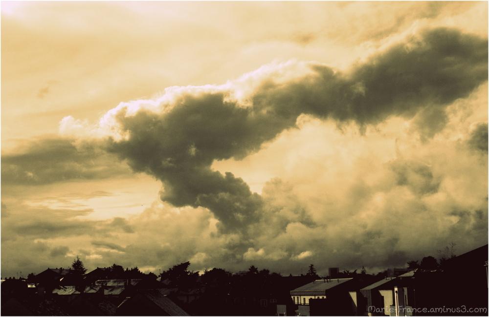 nuages en <