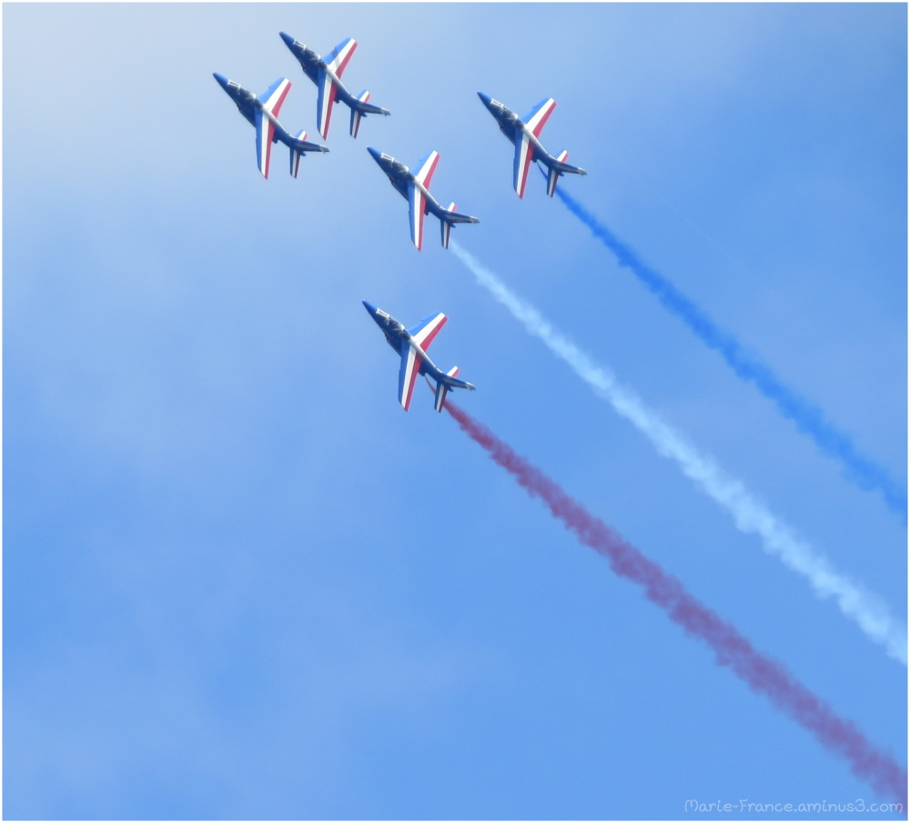 Avions de la patrouille de France