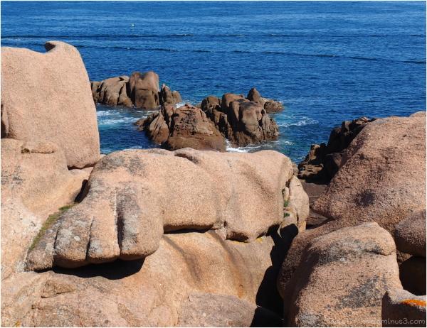 Des rochers  à Poumanach
