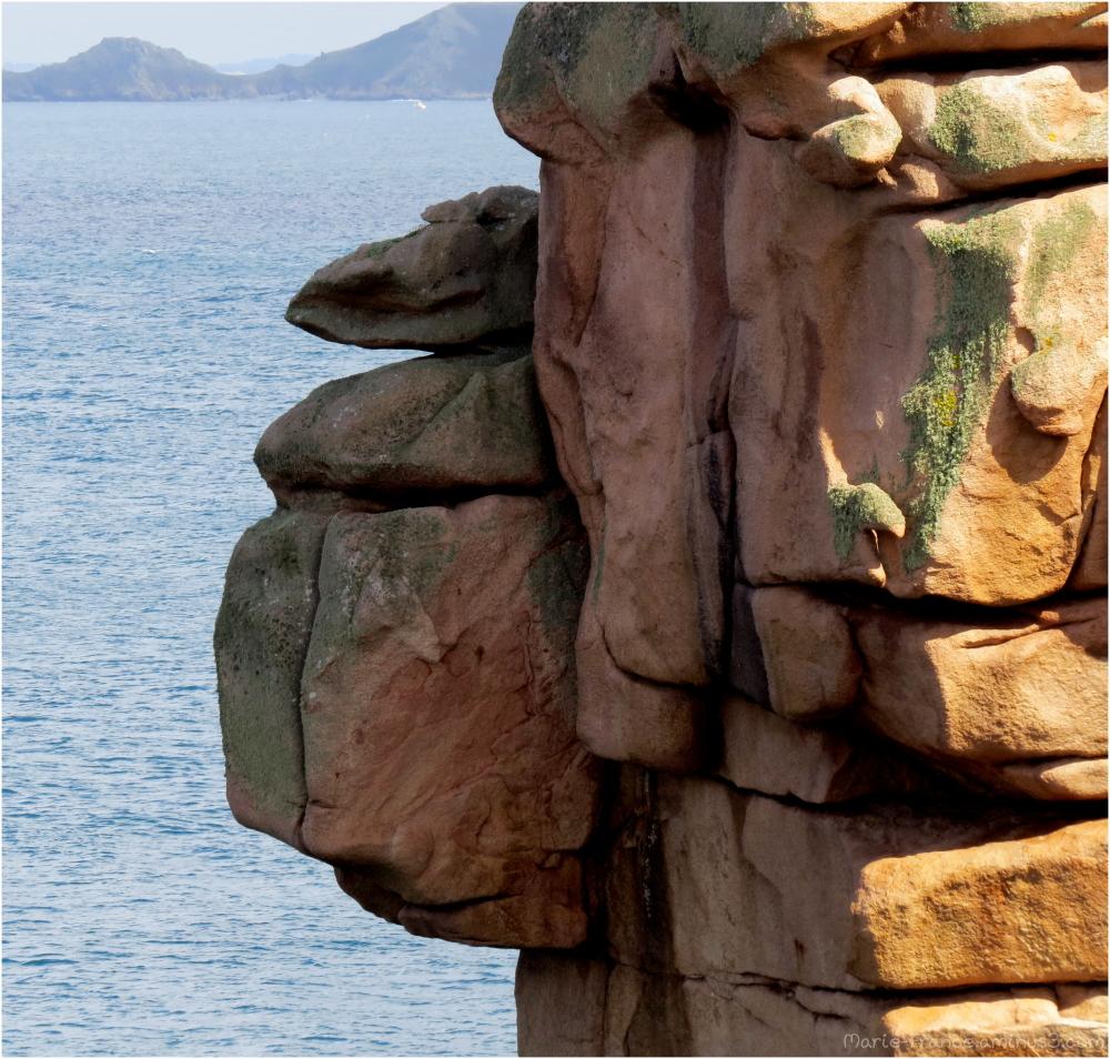 Des rochers  à P!oumanach