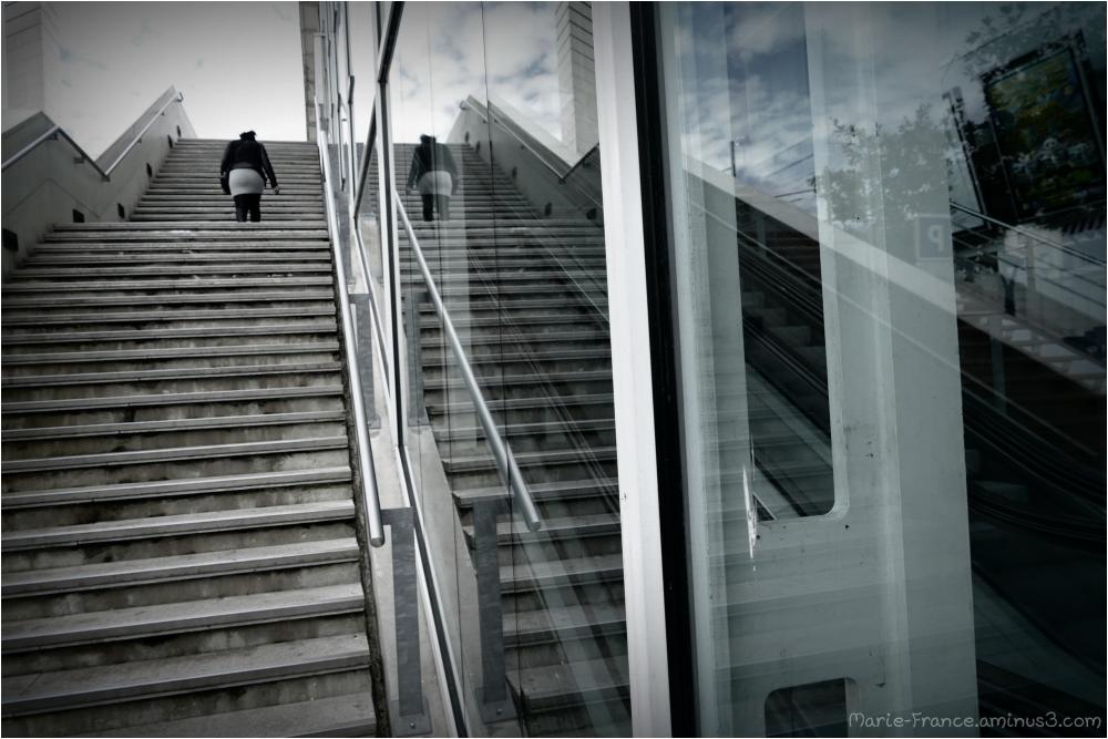 A la gare d'Angers