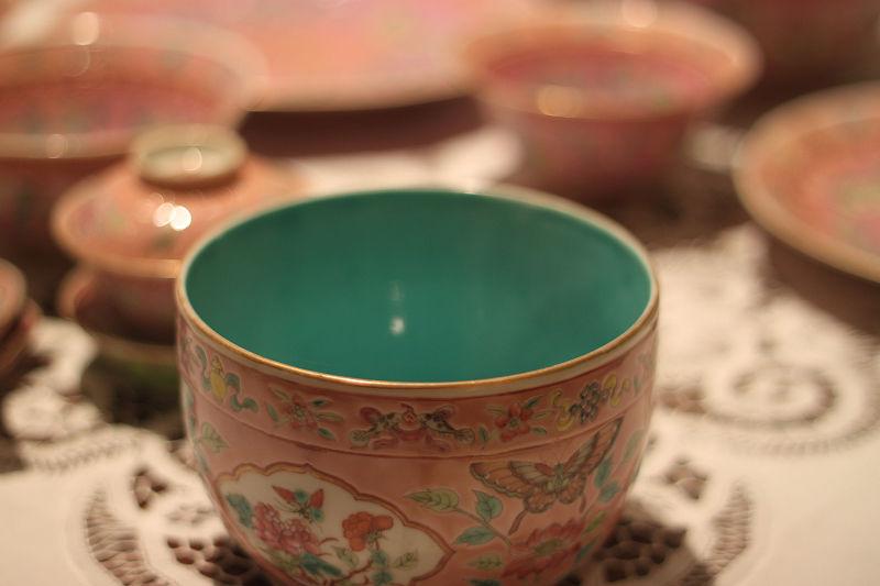 Peranakan Porcelain Teacup