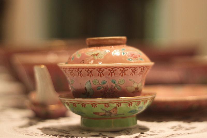 Beautiful Peranakan Teacup...