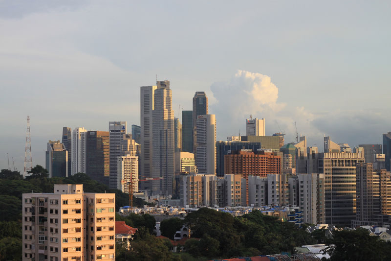 View from Orchard Central