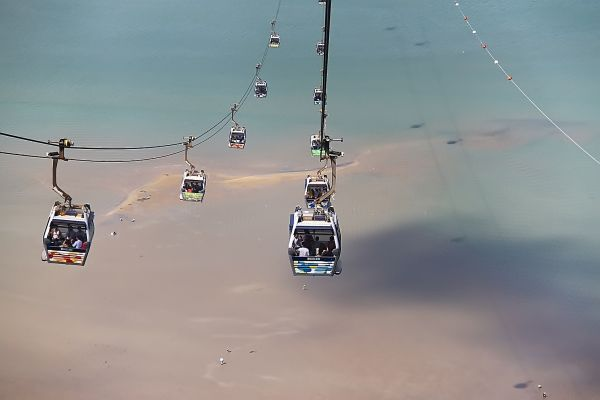 Cable car ride to Ngong Ping 360