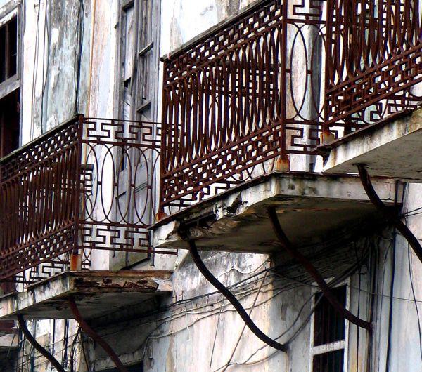 balcones de La Habana