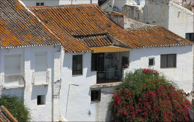 salobreña's roof patios