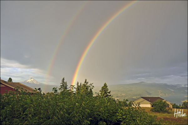 Double Rainbow...what does it mean :)