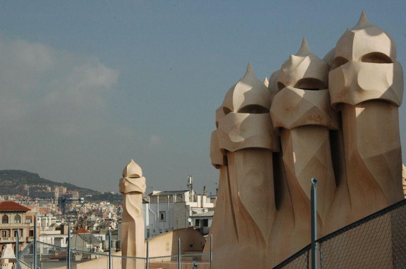 Les sentinelles - Barcelone - La Pedrera