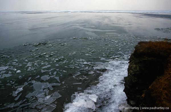 ice shoreline amherst island ontario