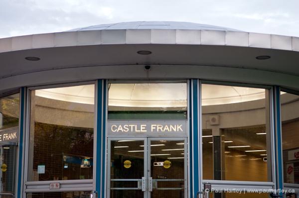castle frank subway station toronto