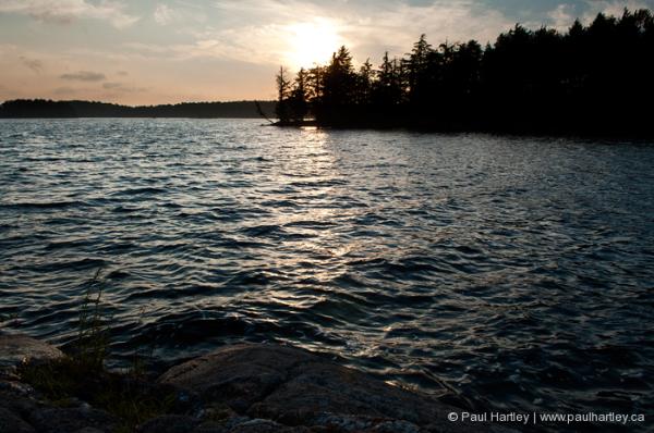 eels lake landscape