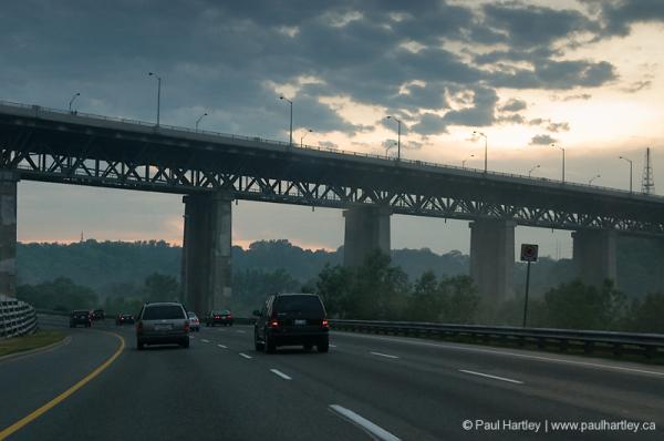 bridge over don valley parkway