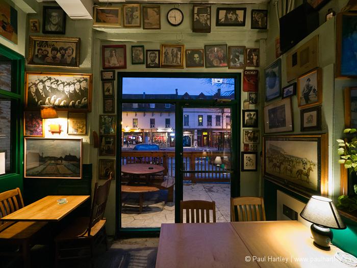 pop culture photographs at a pub peterborough onta