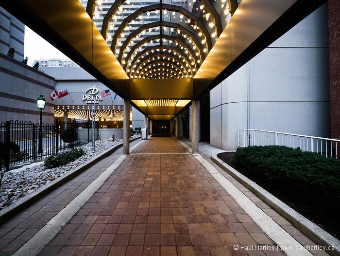 Walkway to delta chelsea hotel