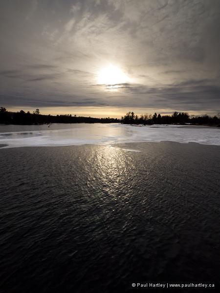 Ice and sun lovesick lake ontario