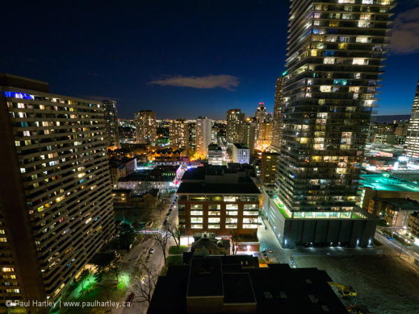 Nightscape Toronto