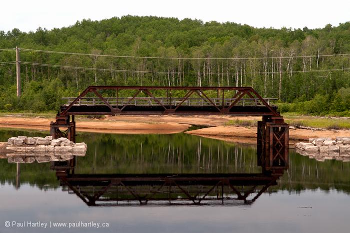 Bridge near near barrys bay ontario
