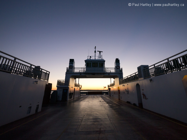 High contrast sunset Frontenac II