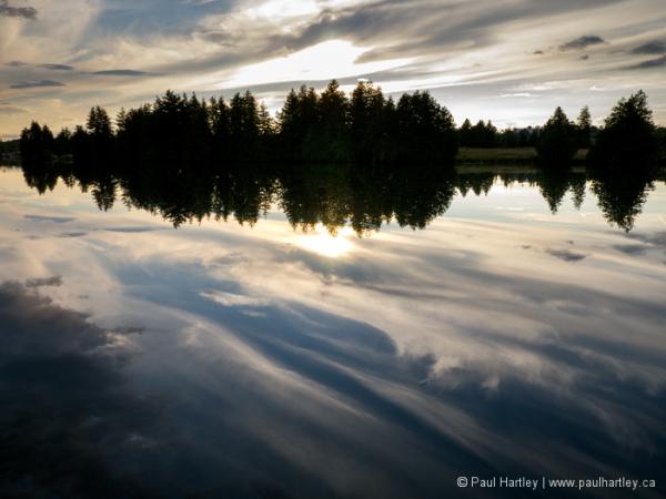 Reflection on the Otonabee river