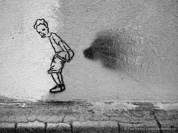 graffiti fart