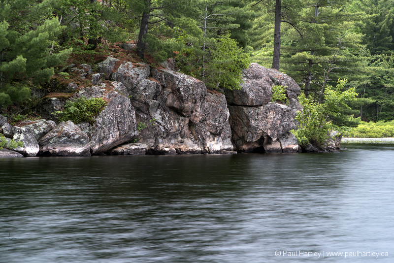 Rock, Forest amd Lake